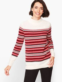 Talbots Chalet Fair Isle Sweater