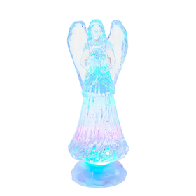 Kurt S. Adler Battery-Operated LED Light-Up Angel