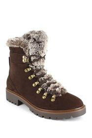 Esprit Julia Faux Fur Trim Hiker Boot