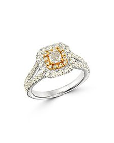 Bloomingdale's - Diamond Halo Engagement Ring in 1