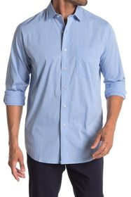 Cole Haan Micro Check Long Sleeve Sport Shirt