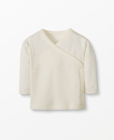 Hanna Andersson Baby Side Snap Top In Organic Cott
