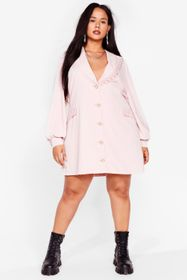 Nasty Gal Pink Plus Size Vintage Style Lace Collar