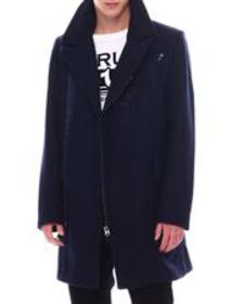 G-STAR biker wool long coat