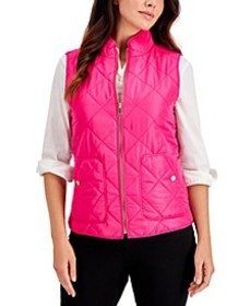 Quilted Vest, in Regular & Petite, Created for Mac