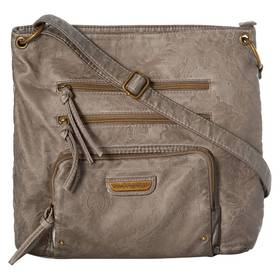 Stone Mountain Double Washed Embossed Super Crossb