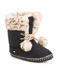 KOOBA Faux Suede Boots