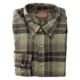 Mens Mountain Ridge Flannel Shirt