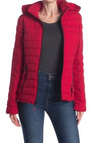 Nautica Hooded Packable Quilted Jacket