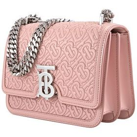Burberry Burberry Pink Small Quilted Monogram Shou