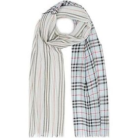 Burberry Burberry Icon Stripe And Vintage Check Wo