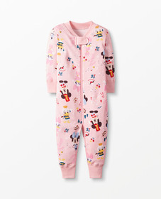 Hanna Andersson Disney Mickey Mouse Sleeper In Org