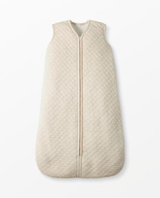 Hanna Andersson Quilted Sherpa Lined Wearable Blan