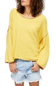 Free People Bardot Drop Shoulder Sweater