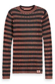 Scotch & Soda Striped Rib Knit