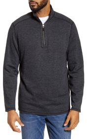 Tommy Bahama Heathered Half Zip Pullover