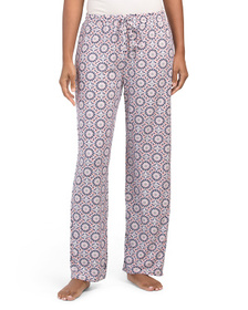 Medallion Print Pajama Pants