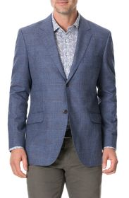 RODD AND GUNN Challis Regular Fit Plaid Sport Coat