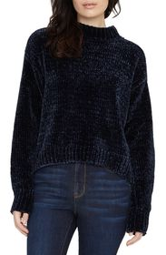 Sanctuary Chenille Mock Neck Sweater