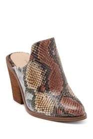 Chinese Laundry Springfield Snake Embossed Mule