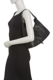 T Tahari Liza Leather Hobo Bag