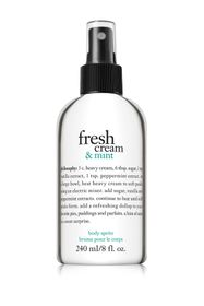 philosophy fresh cream & mint perfumed body spritz