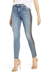 7 For All Mankind Luxe Vintage Side Stripe Skinny