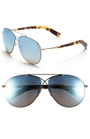 Tom Ford Eva 61mm Aviator Sunglasses