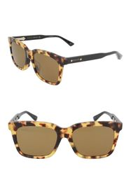 GUCCI 62mm Square Sunglasses