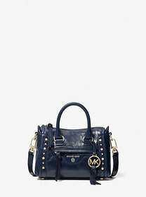 Michael Kors Carine Extra-Small Crinkled Calf Leat
