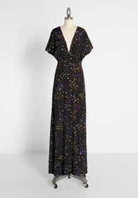 ModCloth ModCloth Front-runner to Fabulous Maxi Dr