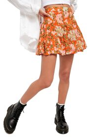 Free People End of the Island Godet Miniskirt