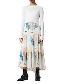 ALLSAINTS - Tilly 2-in-1 Midi Dress
