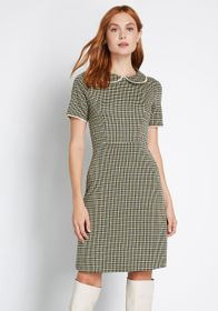 Mademoiselle Yeye Truth of the Matter A-Line Dress