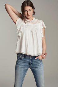 Anthropologie Miley Lace Blouse