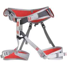 CAMP USA Flint Climbing Harness in Black/Red