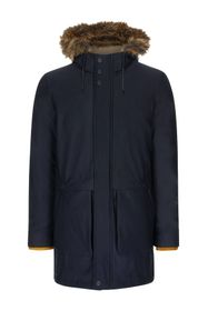 Ted Baker London Brytun Hooded Parka With Faux Fur