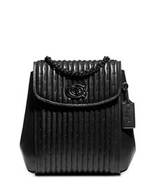 COACH - Parker Mini Convertible Leather Backpack