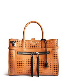 Zadig & Voltaire - Candide Large Perforated Leathe