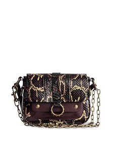 Zadig & Voltaire - Kate Snake Embossed Leather Cro