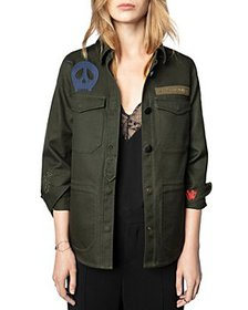 Zadig & Voltaire - Tackl Patch Graphic Jacket