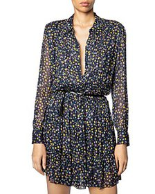 Zadig & Voltaire - Rapidy Printed Pleated Dress