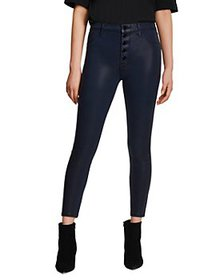 J Brand - Lillie High Rise Cropped Skinny Jeans in
