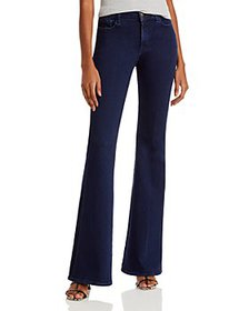 J Brand - Valentina High Rise Flare Leg Jeans in D