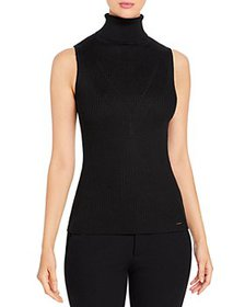 T Tahari - Sleeveless Ribbed Top