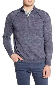 Tommy Bahama Di Sabbia Reversible Half-Zip Sweater