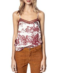Zadig & Voltaire - Camel Jouy Printed Camisole