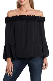 Vince Camuto Bell Sleeve Off-the-Shoulder Blouse