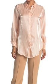 Vince Camuto Long Sleeve Button Up Blouse