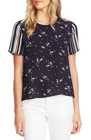 Vince Camuto Whimsical Petals Pattern Mix Georgett